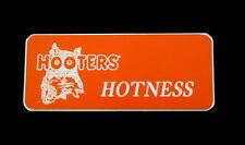 Hooters Uniform Hotness Name Tag Nametag Waitress Bartender Badge Pin