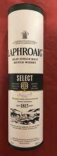 Empty Laphroaig Select Malt WhiskeyTube Canister