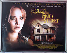 Cinema Poster: HOUSE AT THE END OF THE STREET, THE 2012 (Quad) Jennifer Lawrence