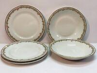 Vintage T. Haviland Limoges France Schleiger 1063-1 Salad Plates Soup Bowls