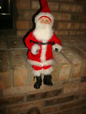 Byers Choice Carolers Sitting Santa Sits On A 1998 Bench (Byers Choice ) ? Nice