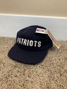 New England Patriots 90's Cap American Needle Vintage Mac Daddy Wool Hat NFL