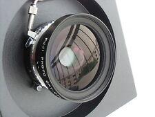 Fuji (Fujinon) SWD 75mm /f 5.6 lens, Copal shutter, Horseman recessed lensboard