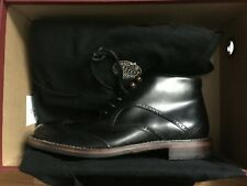Wolverine 1000 Mile Men's Chukka Boots Wesley Black - Sz 7.5