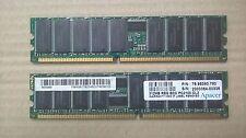 DDR1 Apacer PC20100 1GB (2x512) ECC