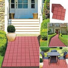 12 Piece Patio Walkway Pavers Set