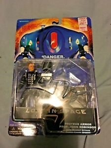New, in Package, Lost in Space Proteus Armor Prof. John Robinson Action Figure