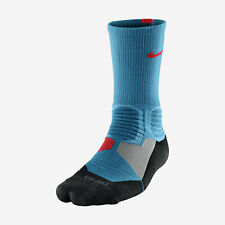NIKE HYPER ELITE Basketball Crew Socks SX4801-418 M (6-8) Blue / Punch