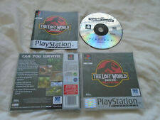 The Lost World: Jurassic Park PS1 (COMPLETE) Sony Playstation platinum