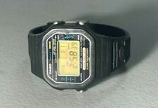 VINTAGE MENS CASIO H 110 MARLIN 106 JAPAN 100M MODULE QUARTZ WATCH
