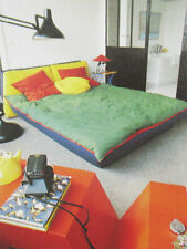 Vintage 1980s interior decorating design New Wave retro pastels geometrics etc