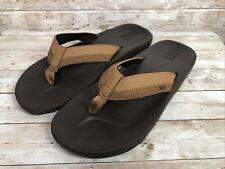 Reef Cushion Flip Flops Sandals Thongs Mens Sz 13 Brown