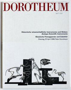 Dorotheum Vienna Scientific instruments auction catalogue April 2008