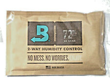 Boveda 72-Percent RH Individually cellophaned 2-Way Humidity Control Pack, 60gm