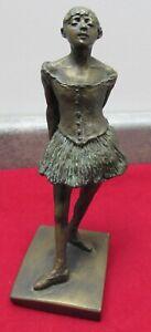 Museum of Fine Arts Edgar Degas Little 14-Year Old Dancer Sculpture Replica