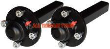 "4 Stud 4"" Inch PCD Road Trailer Hubs Quad ATV Buggy Wheel Hub & Stub Axles 550KG"
