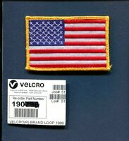Velcro Brand UNITED STATES FLAG NAVY USAF ARMY Flight Jacket Suit Squadron Patch