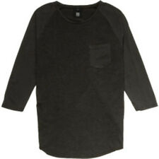 Insight Mass Appeal Raglan Tee (S) Dirty Boot Black