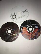 Ultima Pc Game Lot: Ultima Online, Ultima Online Renaissance, Ascension