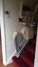 Acorn Superglide Stairlift Installed £550 All Inc,1 YR WARRANTY, {MANUAL HINGE}