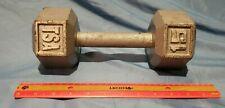 15 Pound Cap Barbell Single TSA Dumbell Hand Weight