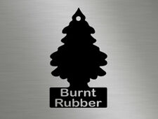 Burnt Rubber JDM EDM funny joke vinyl decals window stickers drifting drift race