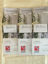Victoria Linen Ivory Satin Stripe Emperor Duvet with 3 sets of pillows perfect