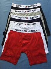 4 TOMMY HILFIGER COTTON TRUNKS BOXER GUY FRONT underwear Very Loose Fit