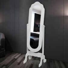 Vrijstaande kantelbare spiegel (wit) vrijstaand vrij staand kantel baar