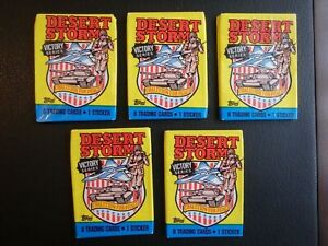 Desert Storm Victory Series Trading Cards