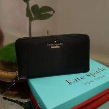 Kate Spade Lyla Plain  Wallet  - Black