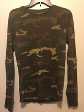 Men's Athletic Fit Camouflage Mossimo Supply Co Long Sleeve Camo SMALL Shirt