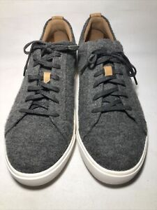 Clarks Un Maui Lace Up Sneaker Gray Womens 9.5 M Shoes