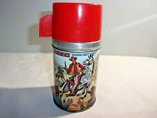 Vintage 1967 Gunsmke Lunchbox Thermos by Aladdin / Very Clean