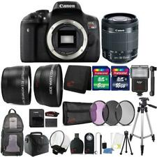 Canon EOS Rebel T6i SLR Camera 24.2mm + 18-55 Lens and Ultimate Accessory Bundle