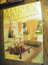 Maison & Jardin avril 1982 revue de décoration des années 1980