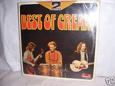 """COLLECTOR / DBL LP """"BEST OF CREAM""""  POLYDOR FRANCE 1RST PRESS 73"""