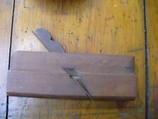 ANTIQUE WOODEN BLOCK PLANER ~ SANDUSKY TOOL CO OHIO