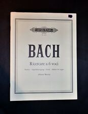 Music Sheet-Bach-search to 6 items-Score for Organ - 1964 HZ