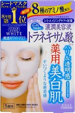 Kose Cosmeport CLEAR TURN White Face Mask (Tranexamic Acid) 5-Sheets