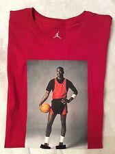 Nike Air Jordan Uomo vietati foto t shirt Tag Nuovo di zecca con Taglia Small