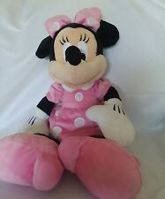 Pink Minnie Mouse Plush Disney Parks Authentic Original Plush 20""