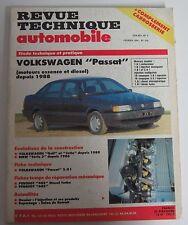 Revue technique RTA 524 Volkswagen passat moteur essence & diesel 1988 ->