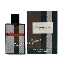 Burberry London For Men Eau de Toilette Miniature Collectible 0.15oz 4.5ml  New