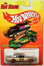 HOT WHEELS THE HOT ONES  '84 PONTIAC GRAND PRIX GRAY