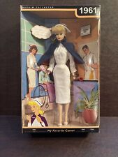1961 REGISTERED NURSE MY FAVORITE CAREER BARBIE DOLL VINTAGE REPRO LOOK READ