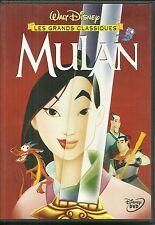 DVD - WALT DISNEY : MULAN