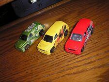 Rare Lot of 3 Different Hot Wheels Fandango Dodge Durango looking SUVs Free Ship