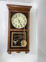 Ridgeway Regulator Wall Clock Model # 745 8 Day Chiming
