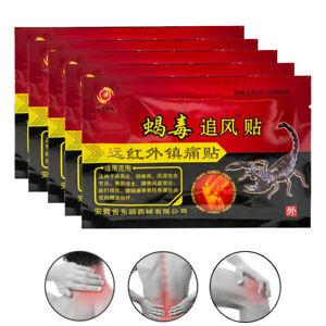 8x Pain Relief Plaster Rheumatic Arthritis Patch Chinese Herbal Plaster UK